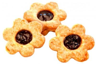 Печенье сливочное песочное с черной смородиной У Палыча