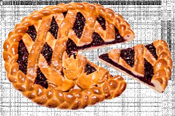Пирог с черной смородиной У Палыча