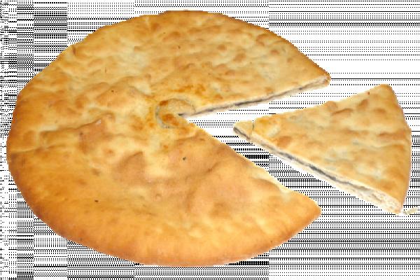 Пирог Осетинский с цыпленком и грибами