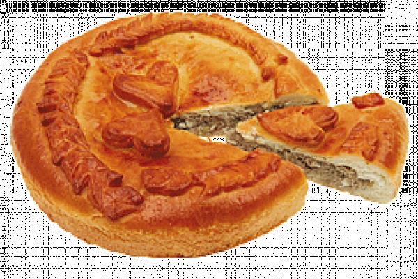 Пирог с мясом оригинальный