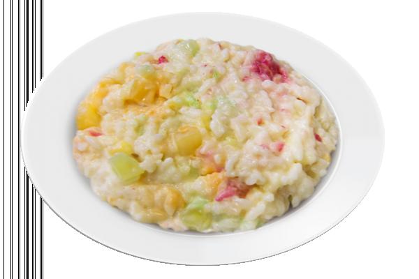 Каша рисовая молочная с ананасом У Палыча