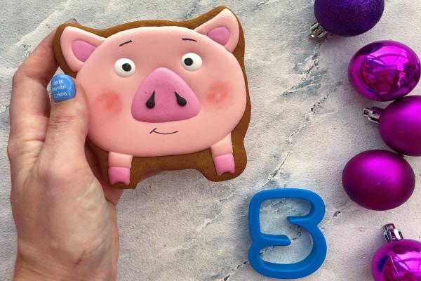 Пряник имбирный Свинка №5 Тесто
