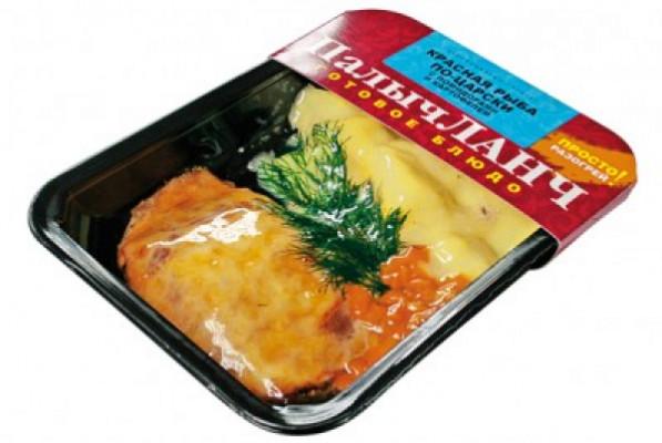 Красная рыба по-царски с помидорами и картофелем