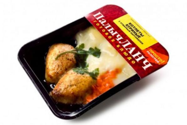 Котлеты куриные с отварным картофелем