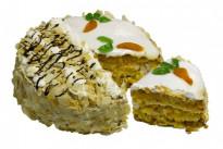 Торт Постный с морковью и ананасами У Палыча