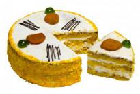 Торт Постный с морковью и мандаринами У Палыча
