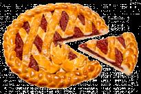 Пирог с клубникой У Палыча
