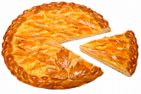 Пирог с лимоном и мандарином У Палыча