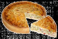 Пирог с брокколи и пармезаном
