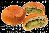 Пирожок с картофелем и луком