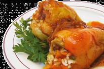 Перец, фаршированный овощами У Палыча