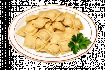Равиоли с индейкой и сыром под сливочно-грибным соусом У Палыча