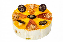 Торт Птичка с халвой и мармеладом из лимона У Палыча