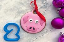 Пряник имбирный Свинка №2 Тесто