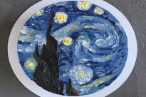 Торт Звездная ночь Ван Гога Dashadaya