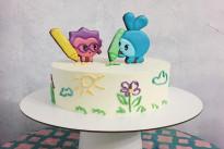 Торт Малышарики Dashadaya