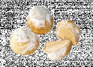 Пирожное Профитроли с абрикосом У Палыча