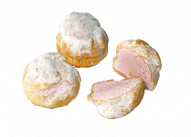 Пирожное Профитроли с малиной У Палыча