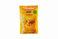 Корм Friskies для кошек с курицей в подливке