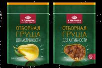 Груша в карамели с мятой и лимоном