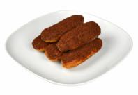 Пирожное Эклер сливки с шоколадом  Черемушки