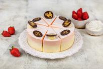 Торт Птичка клубника со сливками У Палыча