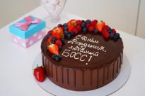 Торт Ягоды и шоколад SWEETMARIN