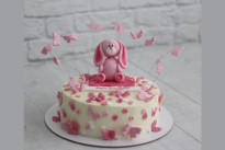 Торт с розовым зайкой SWEETMARIN